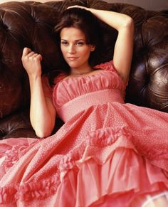 Reese Witherspoon as June Carter Cash :) I absolutely love her with dark hair