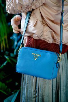 prada camera bag outfit