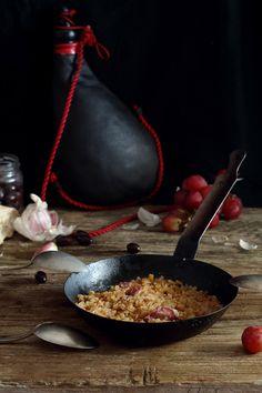 Migas de pan {receta de mi madre} Spanish Dishes, Spanish Food, Migas Recipe, Mexican Food Recipes, Healthy Recipes, Sweet And Salty, Fall Recipes, Tapas, Food To Make