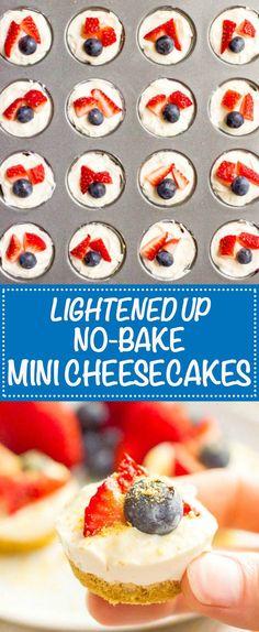 Healthy no bake mini...