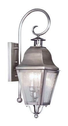 Amwell Outdoor Wall Lantern
