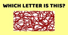 Whether or not you can see these letters can determine how high your IQ is! Let's find out if you have an IQ higher than 85!