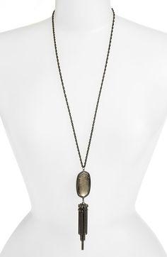 Kendra Scott 'Rayne' Tassel Pendant Necklace available at #Nordstrom