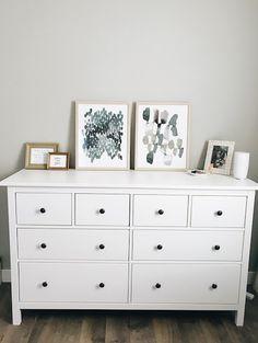 Dani Rose Design Ikea Hemnes Dresser 8 Drawer White Target Art Pergo Southern Grey Oak Sherwin Williams Repose Master Bedroom