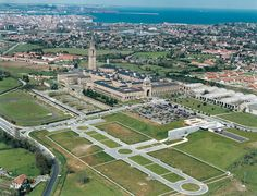 Vista aérea de la Universidad Laboral