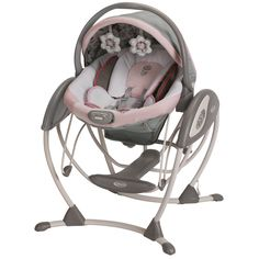 graco glider elite swing in minnies garden overstock shopping big discounts on graco