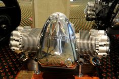 Wooler 500cc OHV flat four motorcycle engine
