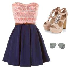 """""""Red white and blue"""" by princessjassy on Polyvore"""