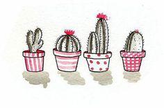 Imagen de cactus, art, and draw