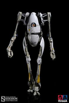 THREEA TOYS PORTAL 2 P-BODY AND ATLAS AVAILABLE FOR PRE-ORDER