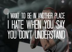 A place for my head - Linkin Park lyrics