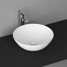 Lux Aqua Design Waschtisch Keramik Waschbecken Aufsatzwaschbecken