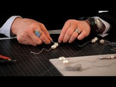Knotting Pearls - YouTube