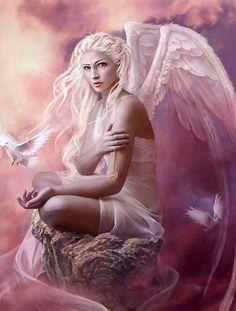 Doves by Marta Dahlig by Fantasy Art, via Flickr