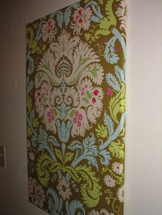Fabric wall hanging how to