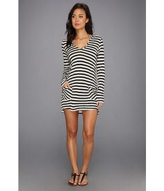 Ella Moss Solids Cover Up Hooded Tunic - Zappos.com Free Shipping BOTH Ways