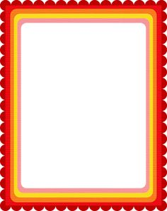 Printable red chevron border Free GIF JPG PDF and PNG