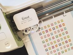 five sixteenths blog: Make it Monday // Create Planner Stickers  using Cricut Explore