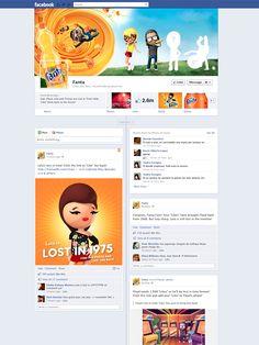 #Fanta - Amazing Facebook Timeline Brand Pages Showcase