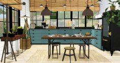 Kitchen 1 recolors at Viikiita Stuff • Sims 4 Updates