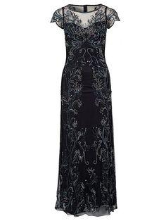 Leafy Maxi Dress