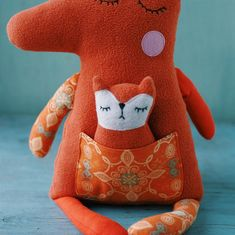 Easy sewing pattern kids girls PDF Stuffed animal Llama plush | Etsy Beginner Sewing Patterns, Sewing Patterns For Kids, Sewing For Beginners, Sewing Stuffed Animals, Dinosaur Stuffed Animal, Llama Plush, Fox Fabric, Fox Toys, Cute Baby Gifts