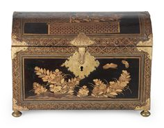 A Nanban lacquer coffer Edo period (1615-1868), circa 1615-1630 Bamboo Fence, Coffer, Edo Period, Bond Street, Floral Motif, Japanese Art, Motor Car, Decorative Boxes, Auction