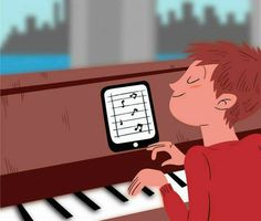 Wolfie is a revolutionary piano app that's transforming music education. The iPad app allows students to play along with various music pieces, noting tempo and key placement to help improve skills and ability. But Wolfie isn't just a resource for students. Teachers gain as much, if not more, by utilizing it.