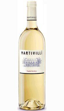 VINO BLANCO MARTIVILLI 2011  Vinos Blancos - D.O. Rueda   5.07€   Precio con I.V.A. Incluido