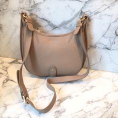 GIGI New York Casey Crossbody Handbag New unused GiGi crossbody saddle bag.  Pebble leather in 28111a715d329