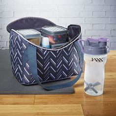 Jaxx FitPak Meal Prep Mini-Tote Bag