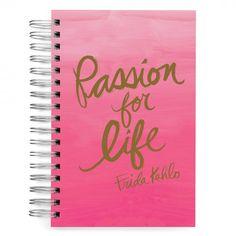 Ecojot passion Frida Kahlo A5 notebook