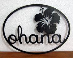 Ohana Sign by designsbyRH on Etsy, $45.00