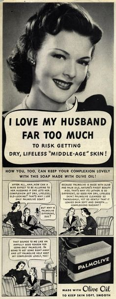 Oh those scare quotes. | 10 More Retro Ads That Made Women Look Like Idiots