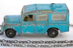 Land Rover Matchbox Car, 1960's. For my boys!