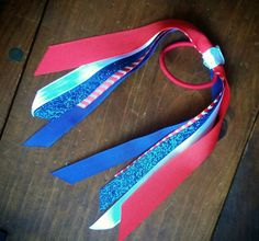 Check out this item in my Etsy shop https://www.etsy.com/listing/398535133/red-white-and-blue-hair-tie
