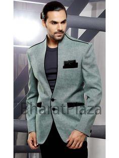 Mens Fashion Wear, Suit Fashion, Designer Suits For Men, Linen Blazer, Coat Patterns, Blazer Jacket, Vest Coat, Mens Suits, Men Dress