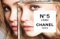 CHANEL N°5 L'EAU & LILY-ROSE DEPP, SECOND GENERATION TAKING OVER!