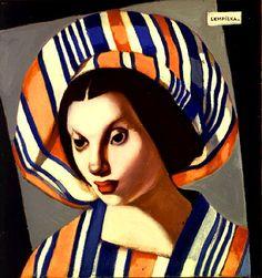 Jeune fille au béret I - Tamara de Lempicka