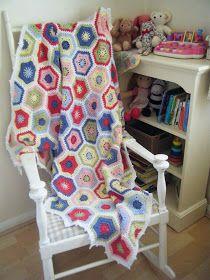 Betsy Makes ....: Magic Hexagon Blanket
