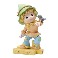 Precious Moments Wizard of Oz Series Scarecrow Thereis No Place Like Home 154459 #Figurine