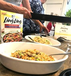 Are you looking for an easy and tasty dinner idea? Try this delicious fried rice. It's a dinner you can make that is faster than takeout! AD