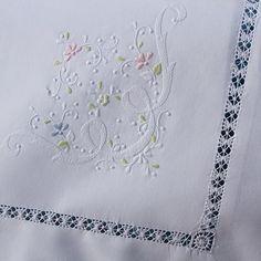 Pretty shadow embroidery