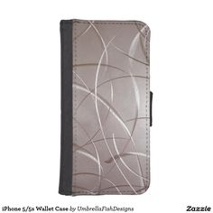 """http://www.zazzle.com/umbrellafishdesigns/gifts?cg=196154062569183450 Turn your iPhone 5/5s into a work of #art with this cool """"Stainless Steel"""" wallet case! My minimal designs are focused on simple color compositions & rich textural surfaces to create strikingly unique products."""