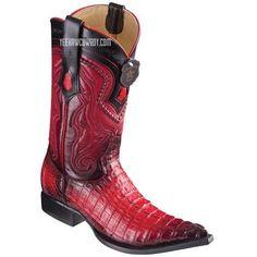 4e928649e2d06c Men s Los Altos Caiman Tail Boots 3X Toe Handcrafted - yeehawcowboy Los  Altos Boots