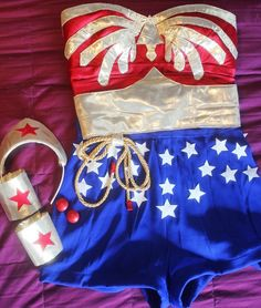 DIY Wonder Woman Costume Transformation
