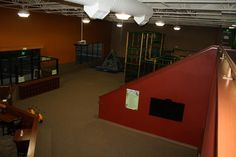 view of the main floor before the bounce house was delivered!
