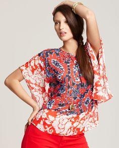 MICHAEL Michael Kors Kimono Top   Bloomingdale's