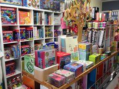 New cube shelves in store Fox Studios, Cube Shelves, Little People, Brisbane, Bookcase, Store, Home Decor, Decoration Home, Room Decor
