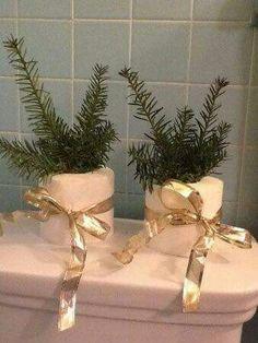 Papel higienico - decoração